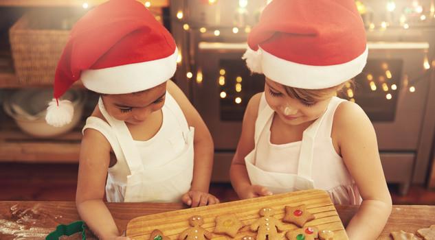 I bambini e il problema dell'alimentazione durante le feste